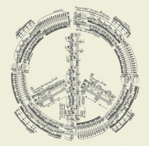 Agnus Dei from the score by George Crumb