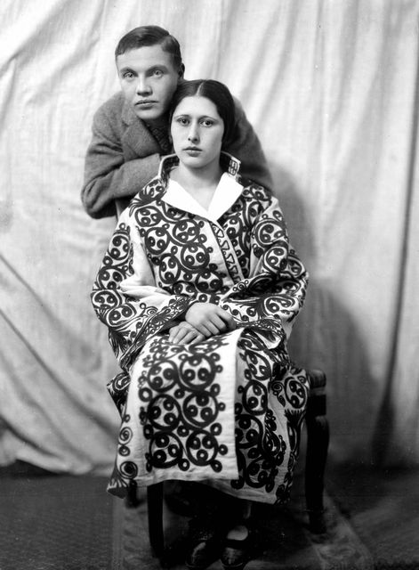 George and his wife Böski