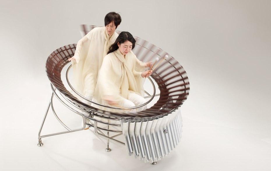 A prototype marimba project, also from Yamaha.