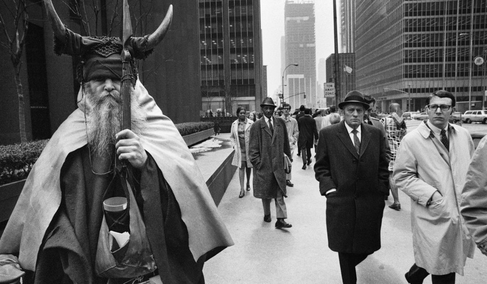 Moondog, the counter-culture musician in New York